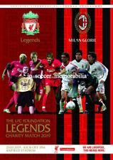 Liverpool Legends v AC Milan Legends - Charity Match - 23 March 2019 - MINT
