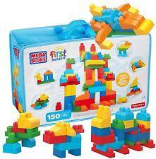 Mattel Mega Bloks First Builders Bausteinebeutel Deluxe 150 Teile Spielzeug