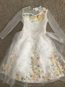 Disney Live Action CINDERELLA Costume Wedding Dress Up Toddler Girls 3T / 4T