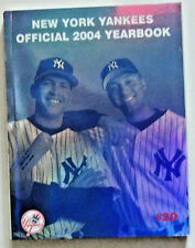 NEW YORK YANKEES OFFICIAL 2004 YEARBOOK w/ JETER, A-ROD & MUHAMMAD ALI COVER