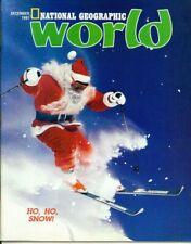 National Geographic World Magazine 1991 December