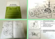 Reparaturanleitung Toyota Land Cruiser J7 Werkstatthandbuch Zusatz ab 1993
