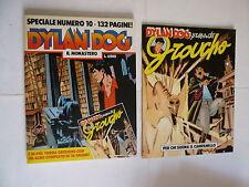 DYLAN DOG speciale 10 IL MONASTERO + allegato albo GROUCHO ottimo BONELLI