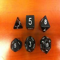6-Dice Sided D4 D6 D8 D10 D12 D20 Magic-the-Gathering MTG D&D RPG Poly Game Set