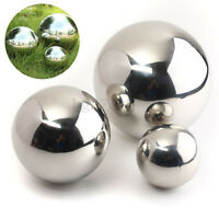 Stainless Steel Mirror Sphere Polished Hollow Ball 9/13.8/18cm Garden Ornament A