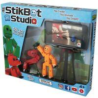 Zing Zanimation STIKBOT STUDIO PETS Studio Pack StikBot & Pet Kids Gift FREE P&P