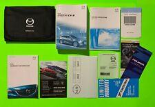 New listing 2018 Mazda Cx-9 Factory Owners Manual Set w/ Nav & Case *Oem*