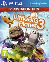 VIDEOGIOCO LITTLE BIG PLANET 3 PS4 GIOCO PLAYSTATION 4 ITALIANO LITTLEBIG PAL
