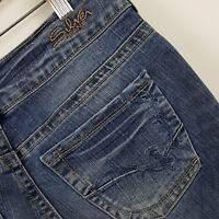 Silver 30 X 30 Suki Boot Cut Dark Wash Stretch Denim Jeans