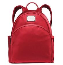 NWT Authentic Michael Kors Small Nylon Backpack 30F4STTB5C Scarlet - from Macy's