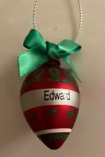 GANZ Mini Ornament Personalized EDWARD