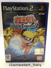NARUTO UZUMAKI CHRONICLES 2 - PS2 - VIDEOGIOCO NUOVO SIGILLATO - NEW SEALED PAL