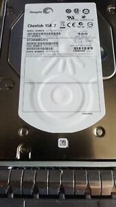 """SEAGATE 450GB 15K FC FIBRE CHANNEL LFF 3.5"""" HARD DRIVE ST3450857FC"""