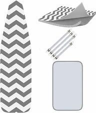 """Ironing Board Cover and Pad Standard Size - Iron Board Cover w/Bonuses 15"""" X 54"""""""