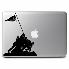 US Soldiers Raising Flag f Macbook Air Pro Laptop Car Window Vinyl Decal Sticker