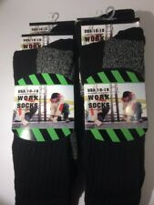 Men's 4 Pair Thermal Construction Work Socks Winter Warm Size 10-15 Free Ship