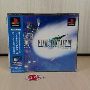 Final Fantasy 7 VII + SPINE CARD FFVII International Version PlayStation NTSC-J