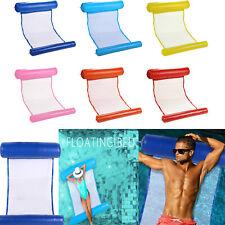 Air Mattress Mat Foldable Swimming Pool Beach Inflatable Float Cushion Bed Sleep