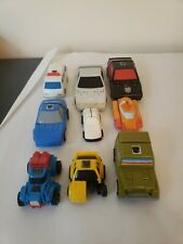 Lot Of 9 G1 Transformers Mini