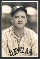 1930's STEVE O'NEILL Indians Star Vintage Baseball Photo by GEORGE BURKE