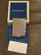 Vintage Silver Reed & Barton 740 Sweetener Case w/ Original Box