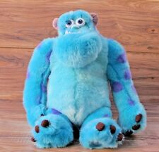 """AUTHENTIC  Disney Monsters Inc Sully Sulley James Sullivan Plush Stuffed Toy 14"""""""