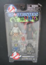 GHOSTBUSTERS MINIMATES: SERIES 3 ~ AMAZON COM EXCLUSIVE BOX SET: 4 PACK ~ NEW