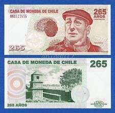 Chile Casa De Moneda - Pablo Neruda Type I Polymer Specimen Test Note Unc