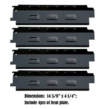 Porcelain Steel Heat Plates Replacement Charbroil,Kenmore,Kmart Gas Grill, 4pack