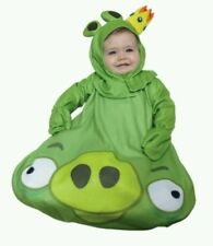 Angry Birds NEW Adorable King Pig Infant Costume fits size 0-9 months