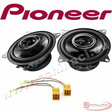 Car stereo rear speakers kit for PIONEER Fiat Punto 2 1999-2005 with adapters