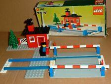 alt: Lego Train Eisenbahn 146 Bahnübergang in OVP / komplett