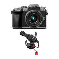 PANASONIC LUMIX G7 4K Mirrorless Camera (Silver) with Rode VideoMicro