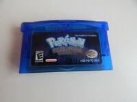 Pokemon Sapphire Version Nintendo Game Boy Advance GBA