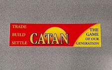 Settlers of Catan Bumper Sticker - New