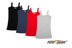 Raftaar®  100% Cotton Women Cami Shoulder Strap Vest Sport Top