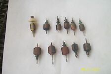 Vintage Big Lot Of 11 Armatures, Slot Cars Accessories.Check It Out...