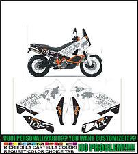 kit adesivi stickers compatibili lc8 950 990 adventure wild climb