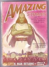 Pulp AMAZING STORIES December 1947 - J. Allen St. John art, Robert Gibson Jones