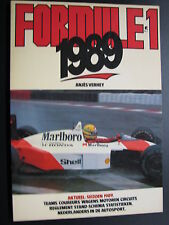 Book Formule 1 1989 door Anjes Verhey (Nederlands)