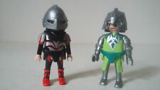 Lot Figurines PLAYMOBIL - CHEVALIERS - Set 4147 CHEVALIERS DRAGON