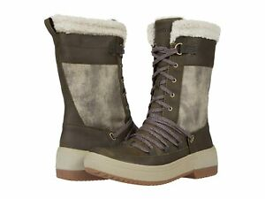 Woman's Boots Merrell Haven Tall Lace Polar Waterproof
