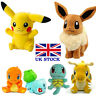 Pokemon Pikachu Bulbasaur Squirtle Charmander Eevee Plush Soft Toys -UK STOCK!!!