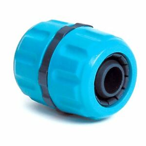 """Hozelock Compatible 1/2"""">3/4"""" Hose Repairer Joiner Water Pipe Tube Reduction-Bl"""