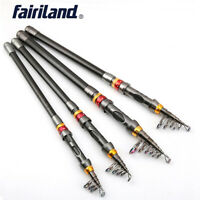 6'/12' Telescopic Fishing Rod Portable Outdoor Travel Retractable Angling Poles