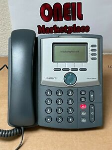 Linksys Cisco SPA941 SPA 941 4 Lines IP Phone with Power Supply & Handset ~Works