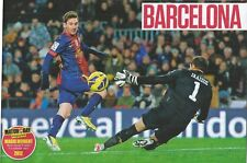 MOTD-POSTER 2017/18-BARCELONA-2012-MESSI SCORES 91 GOALS IN A CALENDER YEAR!