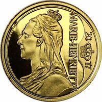 Belgien 12,5 Euro Gold 2017 PP Belgische Dynastie: Königin Marie-Henriette