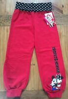 Disney Minnie Mouse Adorable Red Pants Girls Size 4 NWT