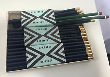 New In Box Vintage A.W. Faber Berkeley Colored Pencil Lot - 29 Blue, 2 Red!